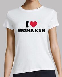 j'aime les singes