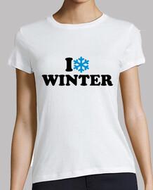 j'aime l'hiver