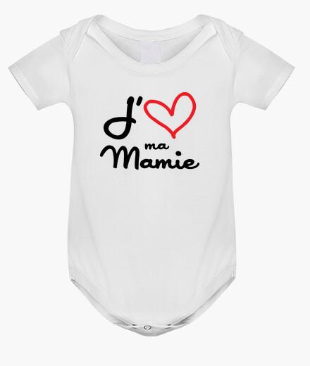 Vêtements enfant J'aime ma Mamie / Mamy / Grand-Mère
