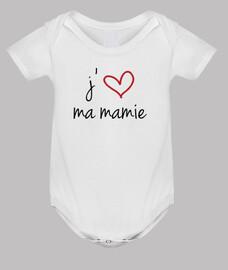 J'aime ma Mamie / Mamy / Grand-Mère