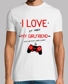 jaime mia ragazza (geek, giocatore, gioco