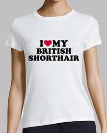 j'aime mon british shorthair