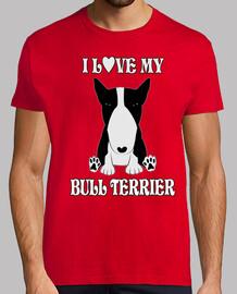 j'aime mon bull terrier nb