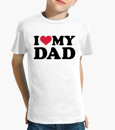 Vêtements enfant j'aime mon père