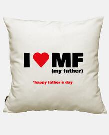 j'aime mon père. fête des pères
