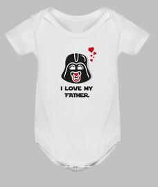 j'aime mon père T- shirt