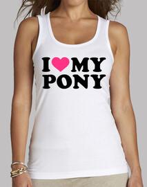 j'aime mon poney