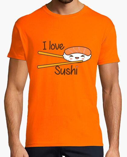 Tee-shirt j'aime sushi
