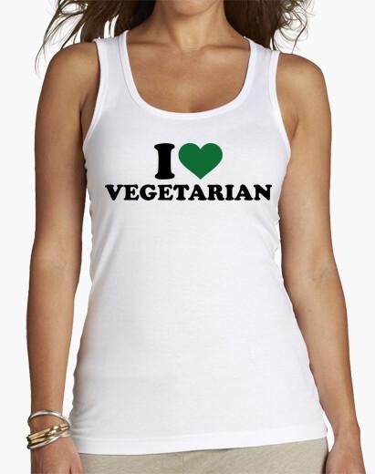 Tee-shirt j'aime végétarien