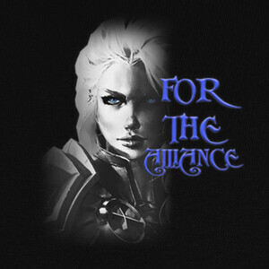 T-shirt Jaina B&N For The Alliance
