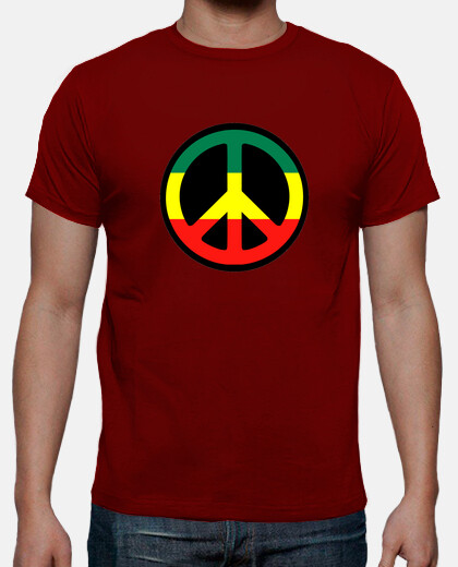 Camisetas Jamaica flag, peace
