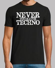 jamais trop vieux pour la techno