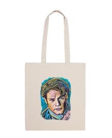 Jamie Fraser en azul, bolsa