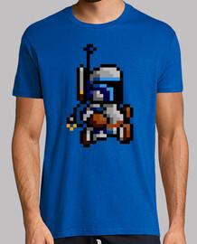Jango Fett 8 Bits (Camiseta)