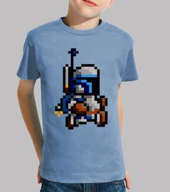 Jango Fett 8 Bits (Camiseta Niño)