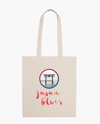 Bolsa JAPAN BLUES (vertical)