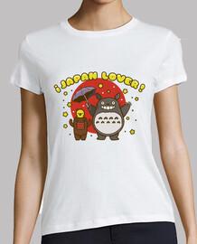Japan lovers. Camiseta chica