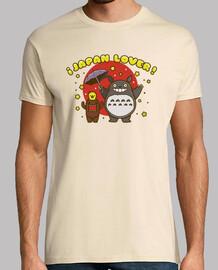 Japan lovers. Camiseta chico