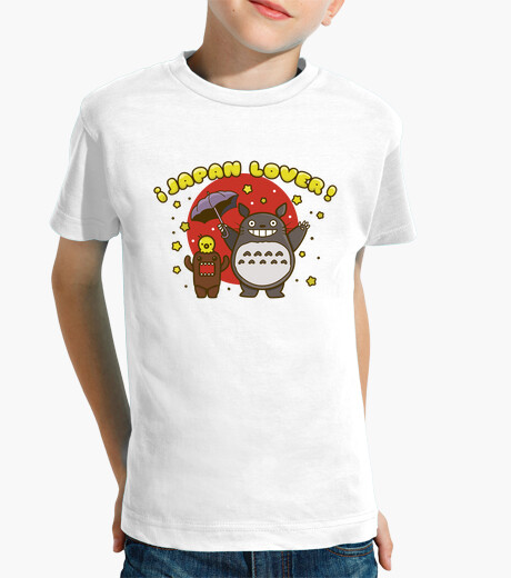 Ropa infantil Japan lovers. Camiseta niño