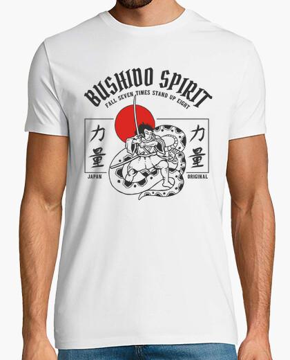 Japanese bushido shirt japan warrior t-shirt