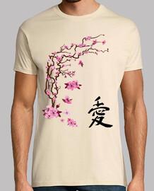 japanese cherry - calligraphy