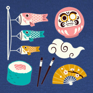 Camisetas Japanese mix