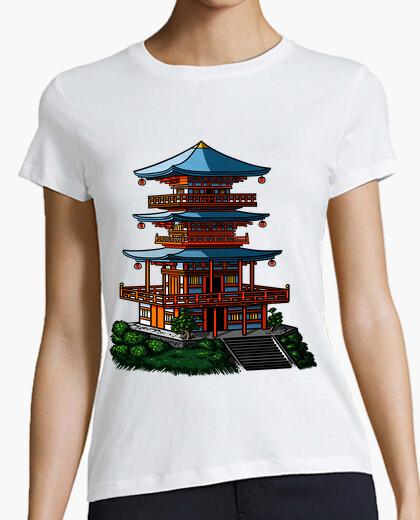 Japanese temple t-shirt