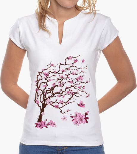 T-Shirt japanische kirsche