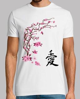 japanische kirsche - kalligraphie