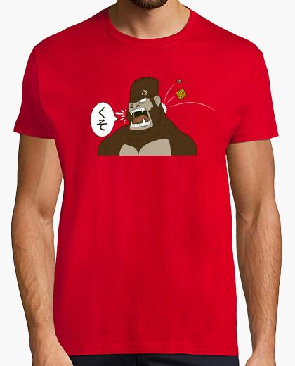 T-Shirt japanischer gorilla