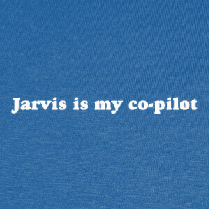 Camisetas JARVIS is my co-pilot