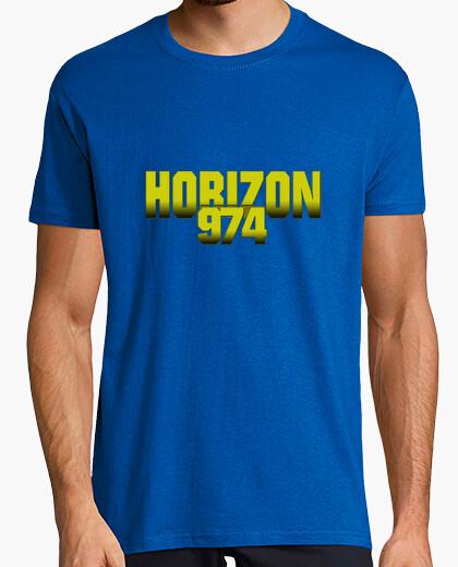 Tee-shirt jaune horizon