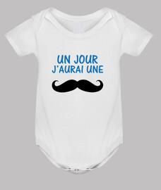 J'aurais une moustache / Bébé / Enfant