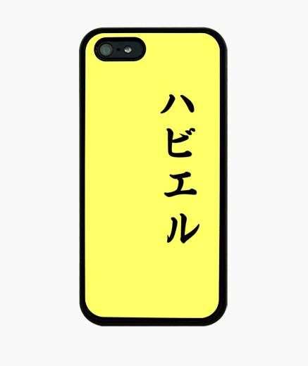 Coque iPhone javier en japonais
