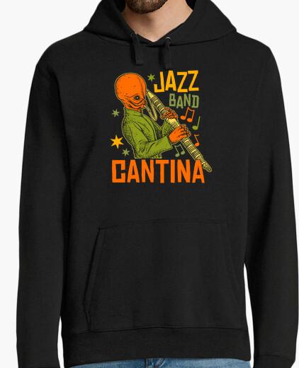 Jazz band canteen hoody