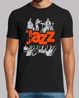 Jazz Band Poster Stil