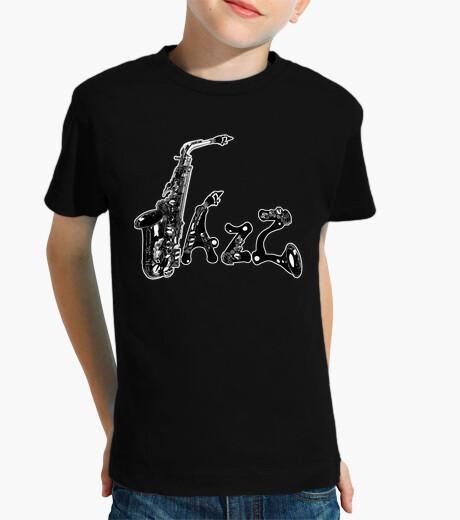 Vêtements enfant jazz (fond noir)