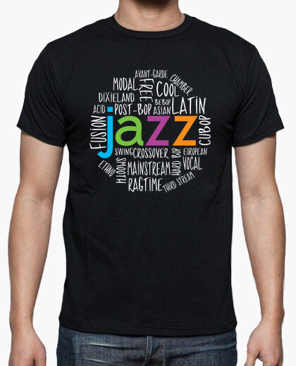 Jazz Genres Cool T-shirt