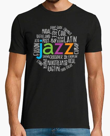 Jazz genres cool t-shirt