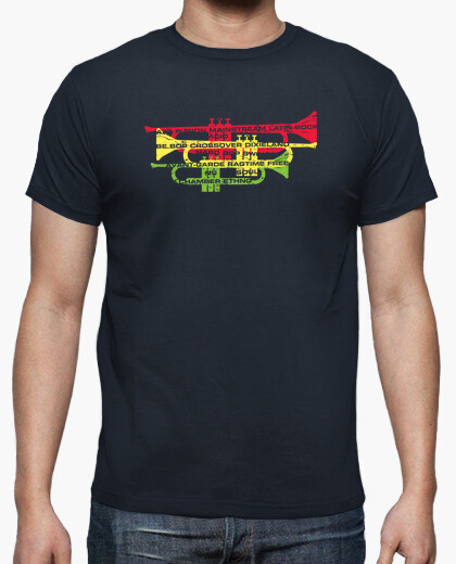 Jazz Genres with Trumpets T-shirt