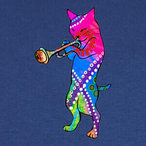 Camisetas Jazz Kitty Cat
