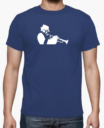 Jazz saxophone and trumpet musicians t-shirt