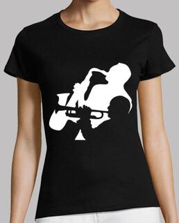 Jazz Trompete und Saxophon Musiker