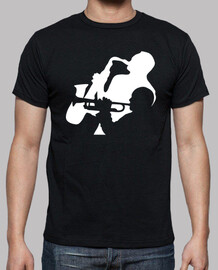 Jazz Trumpet and Saxophone players T-Shirt