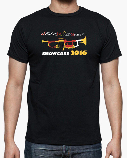 JazzWorldQuest-Showcase 2016 t-shirt