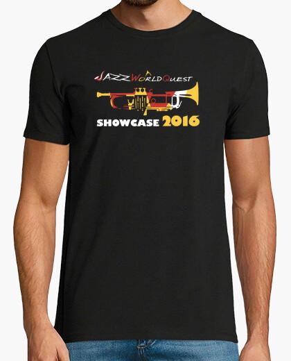 JazzWorldQuest-Showcase 2016 t-shirt