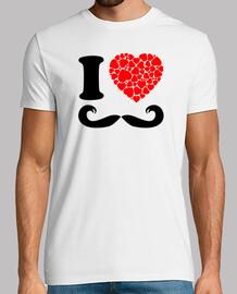 je aime la moustache