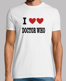 je aime l'amour docteur Who
