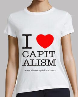 je aime le capitalisme  femme