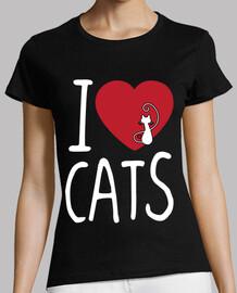 je aime les chats